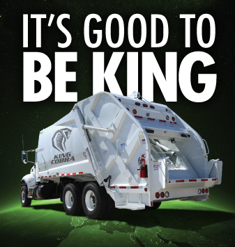 It's Good To Be King | King Cobra Garbage Truck