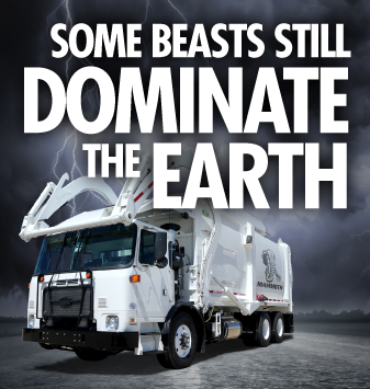 Some Beasts Still Dominate the Earth | Mammoth Garbage Truck