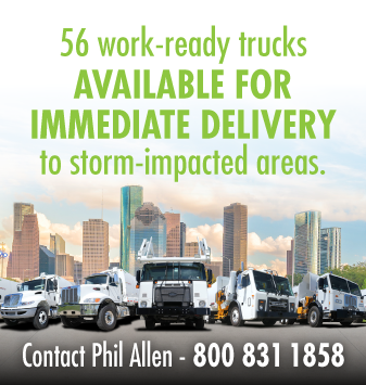56 work ready trucks available for immediate delivery to storm impacted areas