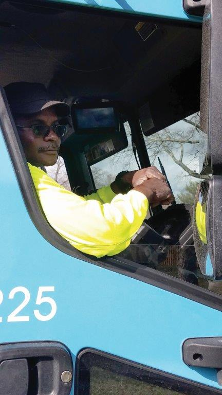 "Ralph King has worked with the City of Murfreesboro for 29 years, 22 of which he has been running this same residential route. He said, ""This right here is easy going. It's a lot easier and a lot quicker."""