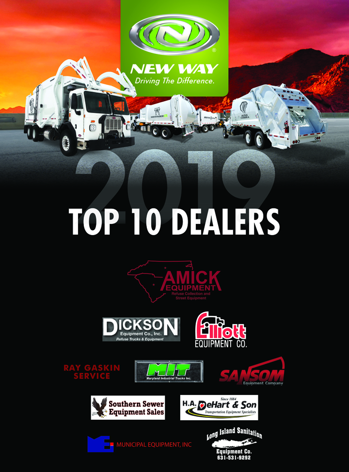New Way Recognizes 2018 Dealer Accomplishments