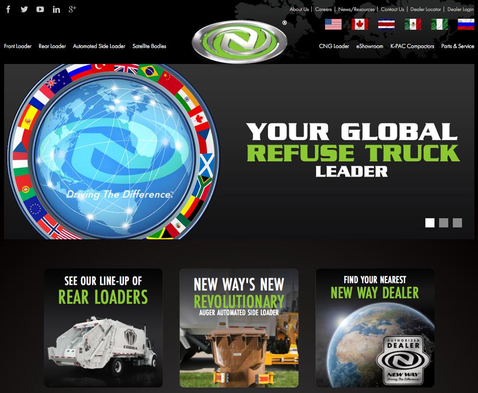 New, New Way Website