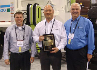 "Dave Short  Receives the ""Driving the Difference"" Award"