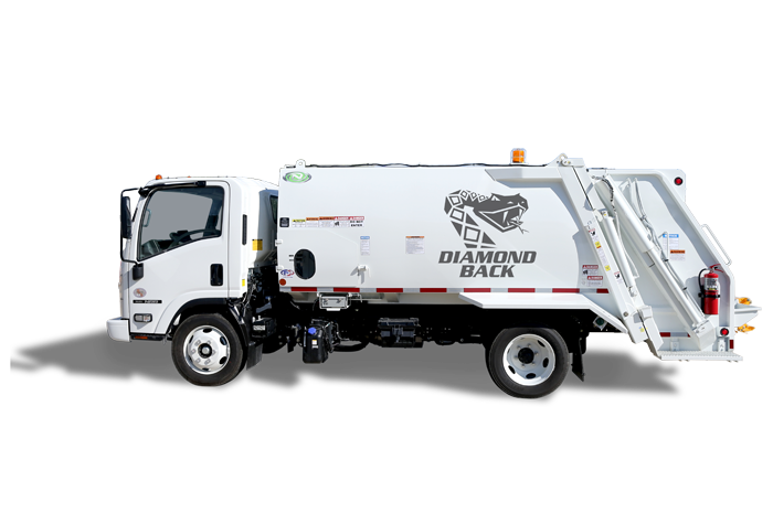 Diamondback Rear Loader New Way 174 Trucks
