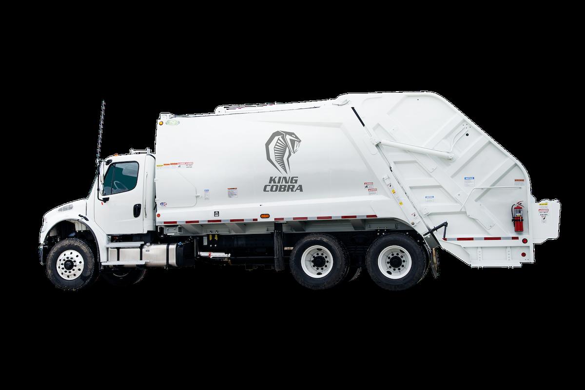 King Cobra trade Rear Loader New Way reg Trucks