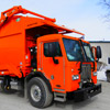 Right Side View of Aloha Waste's New Way Western Series Mammoth Front Loader