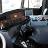 Control systems inside a New Way Western Series Mammoth Front Loader