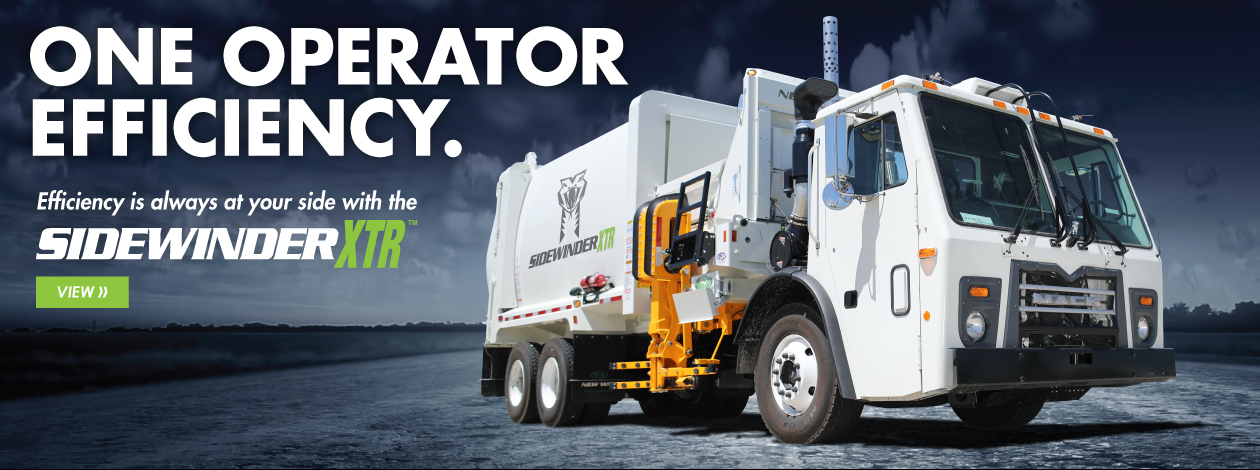 The New Way Sidewinder boasts one operator efficiency